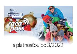 jednodňový rodinný skipas Snowparadise Veľká Rača
