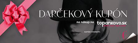 75 € darčekový kupón topankovo.sk