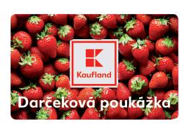 50 € darčeková poukážka Kaufland